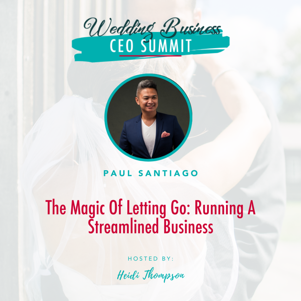 Don't miss out on your free ticket to the Wedding Business CEO Summit!